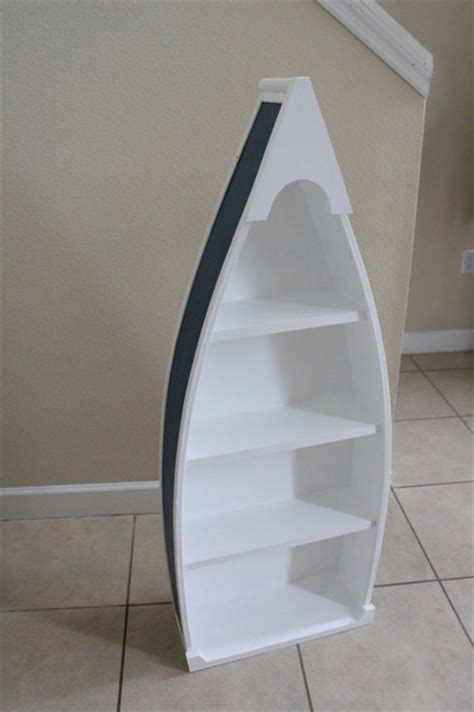 Rowboat Bookcase by Rowboat Bookcase Blue By Woodworks By O Neal