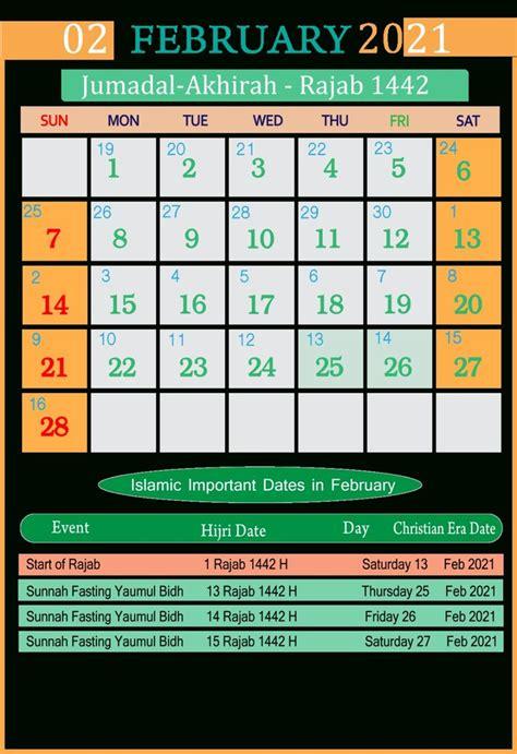 islamic calendar    seg