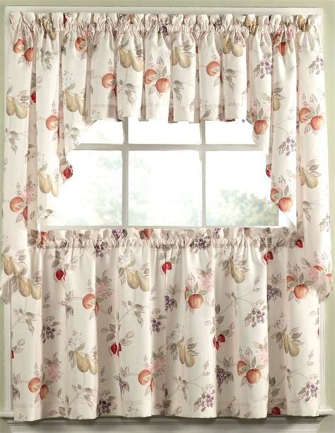 Fruit kitchen curtains     Kitchen ideas