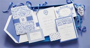 the studio collection wedding invitation suites by With delft blue wedding invitations