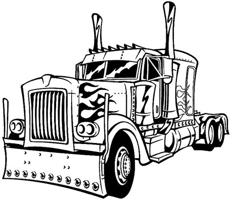 ausmalbilder lastwagen kostenlos malvorlagen zum