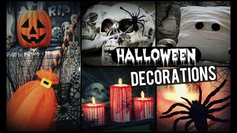 diy halloween decorations   spooky halloween room decor youtube