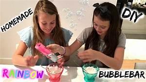 DIY Hoe maak je HOMEMADE RAINBOW bubblebars?(geïnspireerd ...