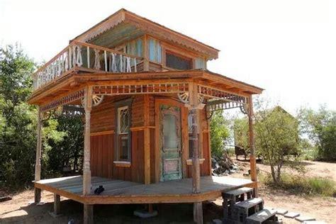 Tiny house with porvh and balcony Tiny texas houses