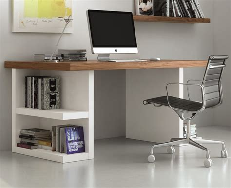 desk with storage temahome multi office desk with side storage in 3 finish