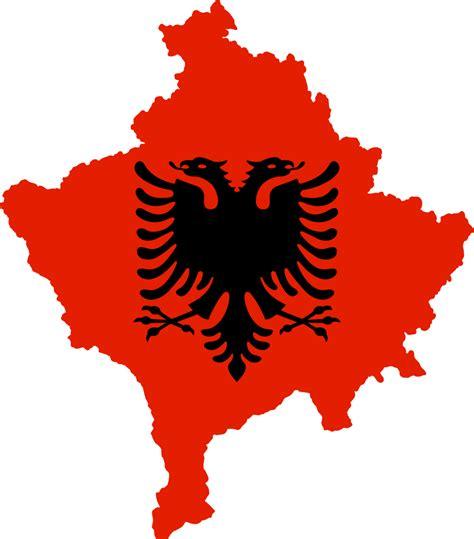 filekosovo  flag  albaniasvg wikimedia commons