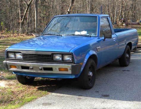 how does cars work 1985 mitsubishi truck on 1985 dodge ram d50 diesel pickup truck mitsubishi w turbo classic dodge other pickups 1985