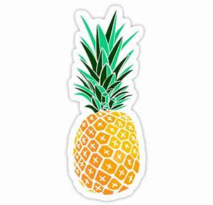 """""""Artsy Pineapple"""" Stickers by MarchieMadness Redbubble"""