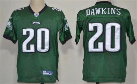 Reebok Philadelphia Eagles Brian Dawkins Dark Green