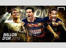 Cover Gallery Ballon d'Or Messi Neymar Ronaldo Goalcom