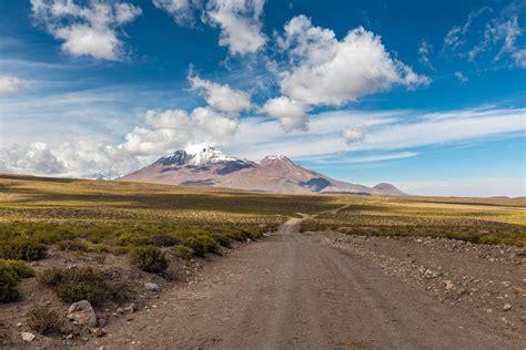 landscape, Road, Mountain, Clouds Wallpapers HD / Desktop ...