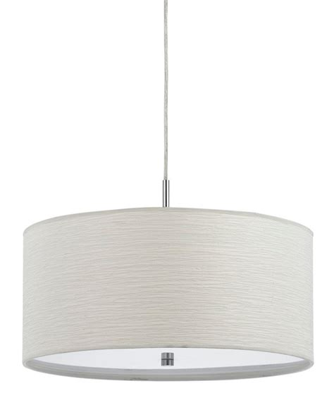 white drum pendant light casual white drum pendant light plug in fx 3524 1p