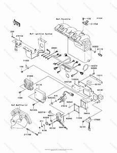 Kawasaki Jet Ski 2004 Oem Parts Diagram For Fuel Injection