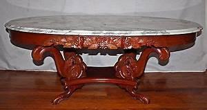 gorgeous antique victorian mahogany italian marble top With antique victorian marble top coffee table