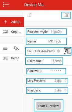 how to configure hikvision dvr and view live cctv camera footage online mobile ivms 4500