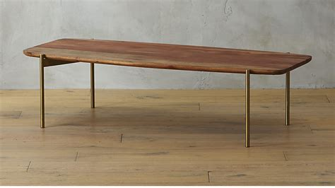 live edge dining room table adam wood coffee table cb2