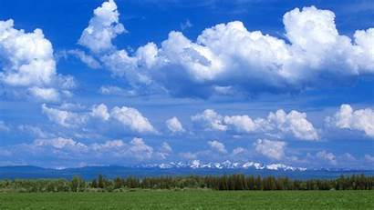 Cloudy Sky Background Partly Oregon Backgrounds Wallpapers