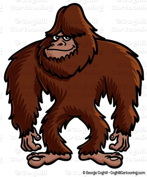 Bigfoot Clipart Big Foot Clipart Angry Gorilla Pencil And In Color Big