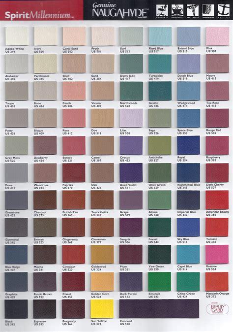um colors bqergonomics color charts