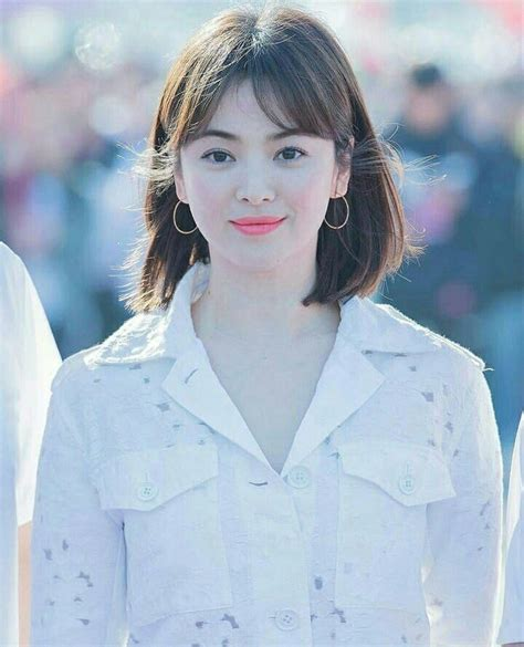 Song Hye Kyo Hairstyle song hye kyo hair style in 2019 song hye kyo