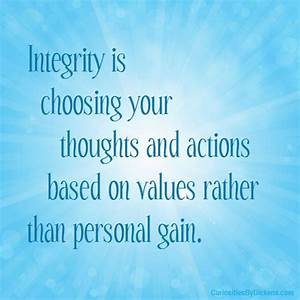 Honesty And Integrity Quotes. QuotesGram