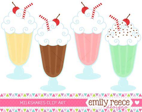 Milkshakes Clipart