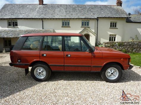 red land rover old red range rover classic pictures to pin on pinterest