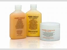 mixed chicks 3 step system for eliminating frizz and