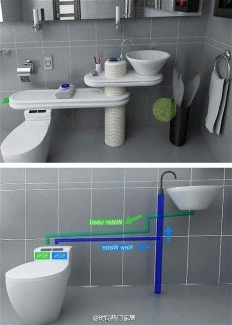 Cool Water Closet by How Cool Is This For Saving Waste Water From Your Sink To