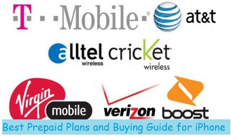 prepaid iphone plans find best iphone cheap prepaid plans for mobile carriers