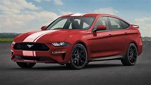 Ford Mustang Four Door Rendered: Sports Car For The Whole Family