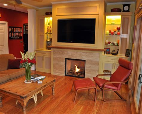 Living and Media Room Remodel Ventana Construction Seattle