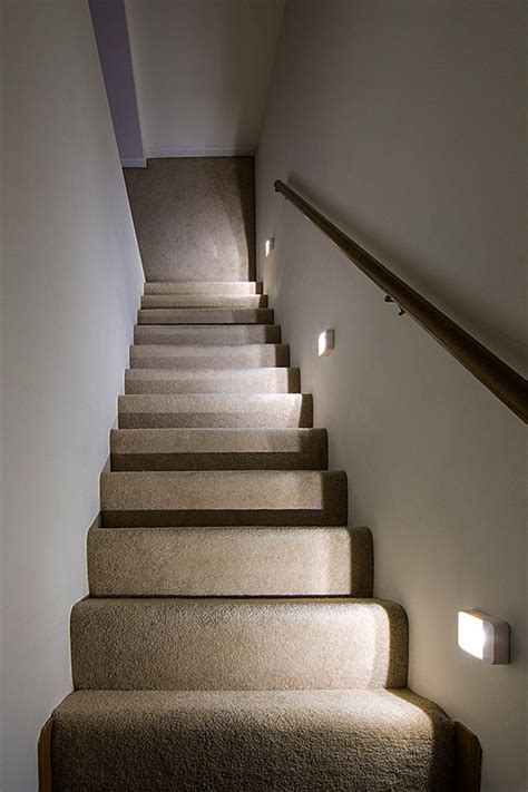 Stairway Lighting by The Readybright Stair Light Will Power On Instantly During