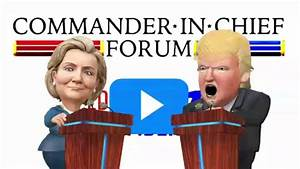 NBC Commander in Chief Forum Live Sept. 7, 2016 - YouTube
