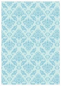 Blue Vintage Design On Pale Blue Background Printable ...