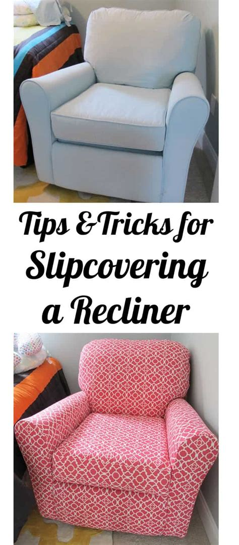How To Reupholster A Reclining Sofa by Before And After Diy Reupholstering Furniture Ideas