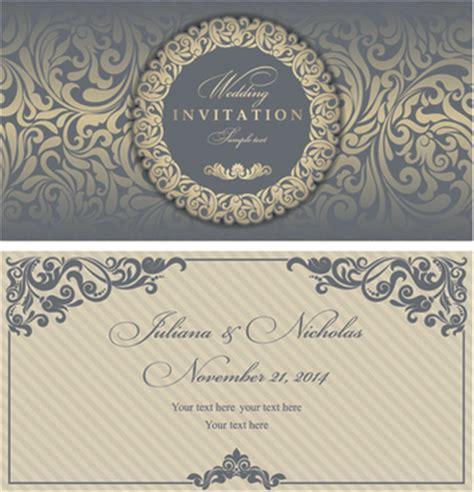 Elegant invitation free vector download (4 319 Free vector