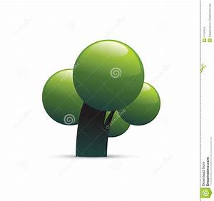 Green Tree Icon Stock Images - Image: 11747614