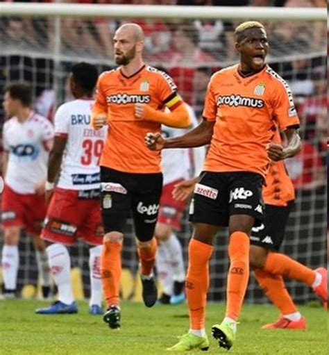 There are overall 16 teams that compete for the title every year between november and august. Osimhen nets brace as Charleroi beat Kortrijk in Belgium ...