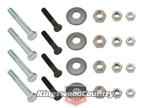 holden lower pivot arm bolt nut washer kit
