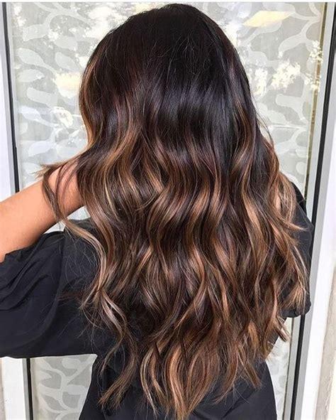 beste balayage braun haar farbe ideen hair  beauty
