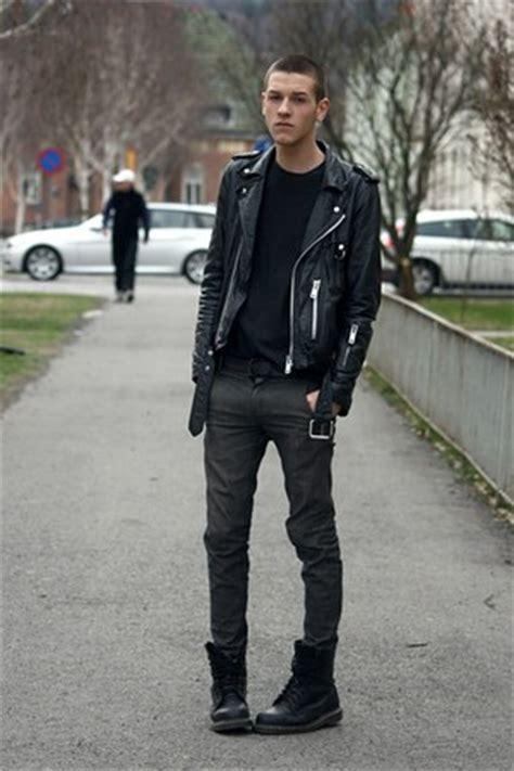 mens black dr martens boots gray cheap monday jeans