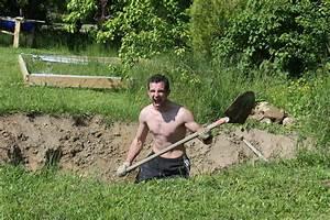 faire un bassin artificiel dans son jardin aquaponie With creuser un puits dans son jardin