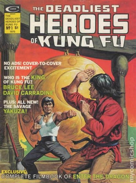 deadliest heroes  kung fu  comic books