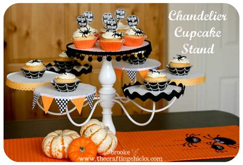 chandelier cupcake stand trash to treasure the