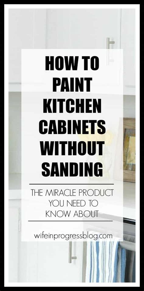 how to paint bathroom cabinets without sanding how to paint kitchen cabinets without sanding wife in