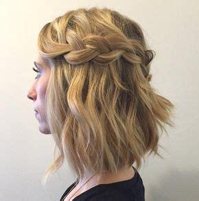 wasserfall frisur kurze haare  geflochtene