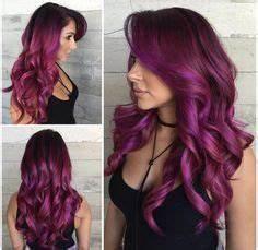My Shades of Violet Hair color purple tones lavander