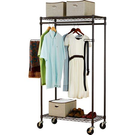 heavy duty clothes rack canopy heavy duty garment rack bronze walmart