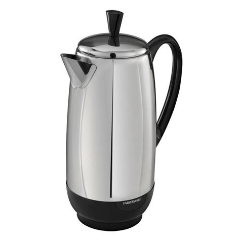 NEW Farberware 12 Cup Percolator Coffee Maker Stainless
